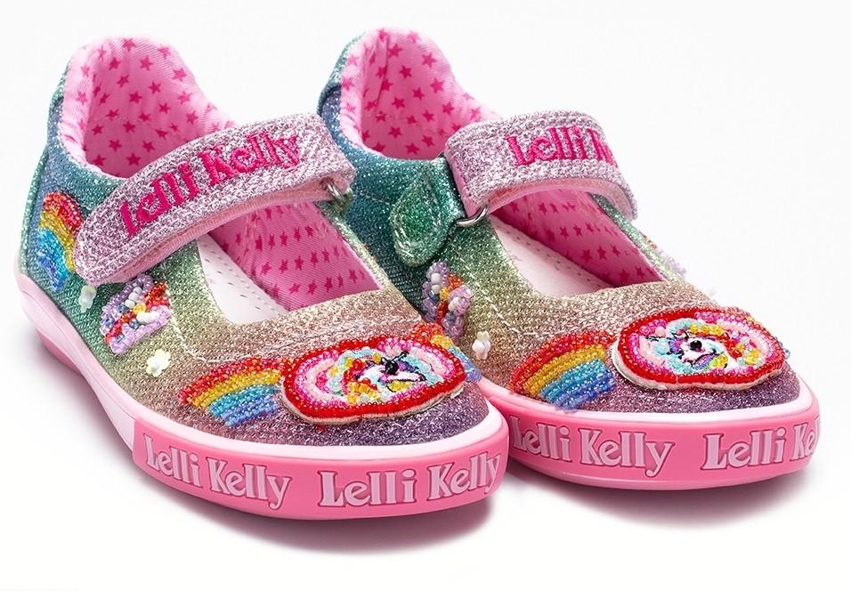Shoes Kelly Wanderers Little Lelli Rainbow Sparkle 5l4rja Canvas fgyb7vY6