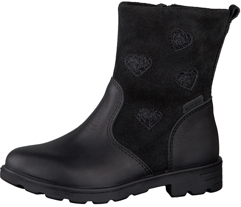 9af77ce454c Ricosta Stephanie Black RicostaTex Waterproof Boots - Little Wanderers