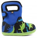 Baby Bogs Dino Electric Blue Boots