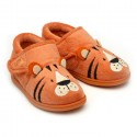 Chipmunks Tommy Orange Slippers