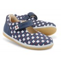 Bobux I-walk Delight Navy Flower Shoes