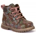 Froddo G2110076-1 Brown Floral Boots