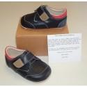 Ickle Shooz Navy Red Pram Shoes