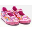 Lelli Kelly Unicorn Pink Canvas Shoes
