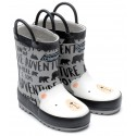 Chipmunks Polar Grey Wellingtons
