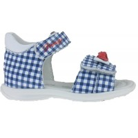 Primigi 1407133 Blue Check Sandals