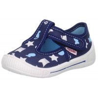 Superfit Bully 265-81 Navy Print Canvas Shoes