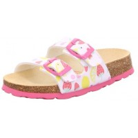 Superfit Tecno 111-11 White Pink Sandals
