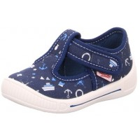 6b999bb4894 Superfit Bully 265-80 Navy Print Canvas Shoes