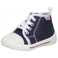 Superfit Bully 248-81 Navy Canvas Boots