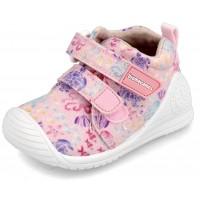 Biomecanics 202207-C Pink Canvas Shoes