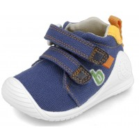 Biomecanics 202212-A Blue Canvas Shoes