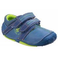 Hush Puppies Eddy Blue Pre-walkers