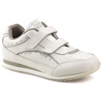 214f539fc54f Toughees Sports White Non Marking Trainers