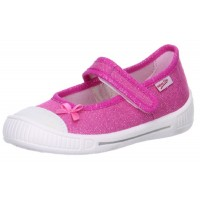 Superfit Bella 261-64 Pink Canvas Shoes