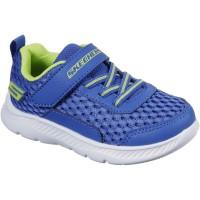 Skechers Comfy Flex Royal Blue Trainers