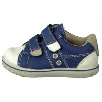 Ricosta Pepino Nippy Blue White Shoes