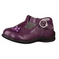 Ricosta Winsy Purple Patent T-bar shoes