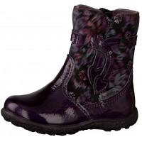 Ricosta Pepino Sanji Purple Patent Waterproof Boots