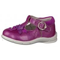 Ricosta Pepino Winsy Fruit Pink Patent T-bar Shoes