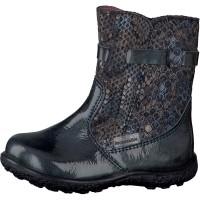 Ricosta Pepino Sanji Blue Patent Waterproof Boots