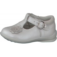 Ricosta Pepino Winsy White T-bar Shoes