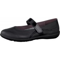 Ricosta Meesha Black School Shoes
