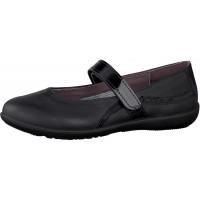 Ricosta Meesha Black School Shoes