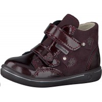 Ricosta Pepino Abby Burgundy Patent Waterproof Boots