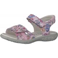 Ricosta Marisol Blush Pink Print Sandals