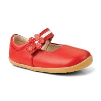 Bobux Step Up Pretty Paris Red Shoes