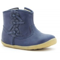 Bobux Step Up Mayflower Deep Navy Boots