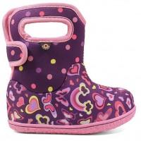 Baby Bogs Rainbow Purple Boots