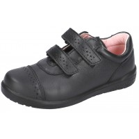 Ricosta Grace Black Leather School Shoes