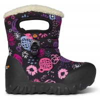 Bogs B-Moc Garden Party Black Boots
