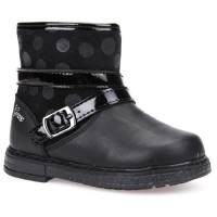 Geox Glimmer Black Boots