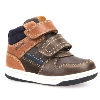 Geox New Flick Coffee Boots