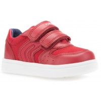 Geox DJ Rock Red Trainers
