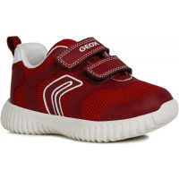 Geox Waviness B922BA Red Trainers