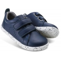 Bobux I-walk And Kid+ Grass Court Navy Shoes