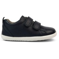 Bobux Step Up Grass Court Navy Shoes