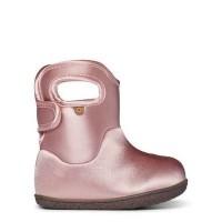 Baby Bogs Metallic Pink Boots