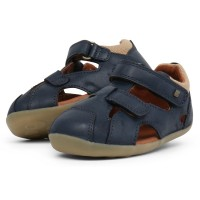 Bobux Step Up Chase Navy Blue Sandals