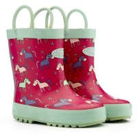 Chipmunks Angelica Pink Wellingtons