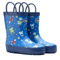 Chipmunks Robbie Blue Wellingtons