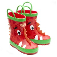 Chipmunks Ziggy Red Wellingtons