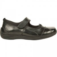 Hush Puppies Cindy Black Leather