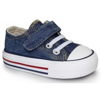 Levis Trucker Mini Low Denim Canvas Shoes