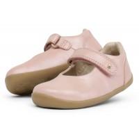 Bobux Step Up Delight Blush Shimmer Shoes