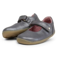 Bobux Step Up Delight Charcoal Shimmer Shoes